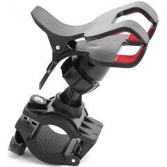 Fiesta SHEARS Universalus laikiklis dviračiui, Juoda kaina ir informacija | Telefono laikikliai | pigu.lt