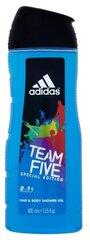 Dušo želė Adidas Team Five vyrams 400 ml