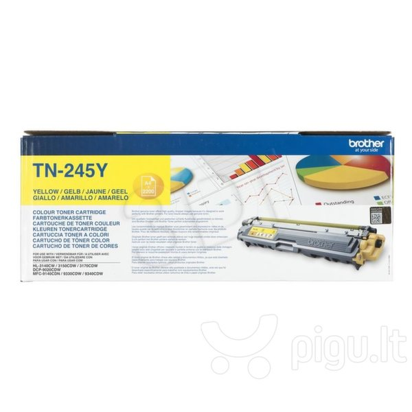 Brother TN-245Y, Yellow toner 2200 pages