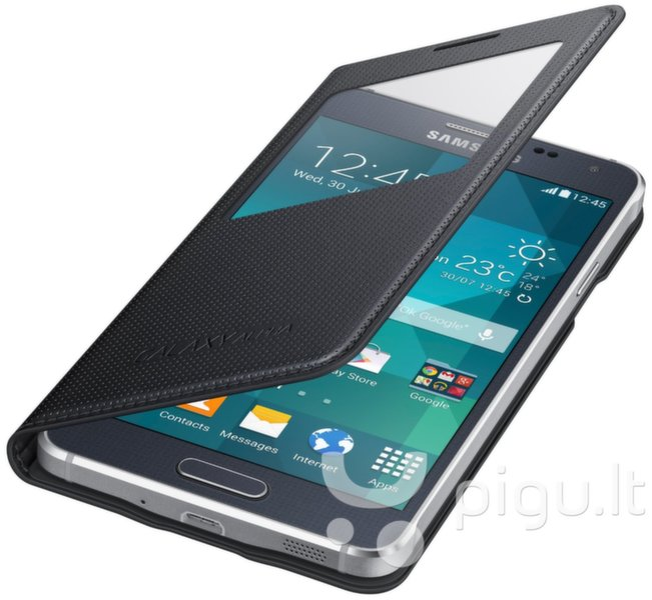 S-View Cover, skirtas Samsung Galaxy Alpha