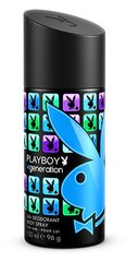 Purškiamas dezodorantas Playboy Generation For Him vyrams 150 ml