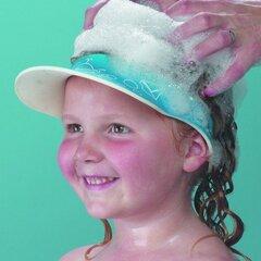 Kepurėlė Clipasafe, apsauga nuo šampūno