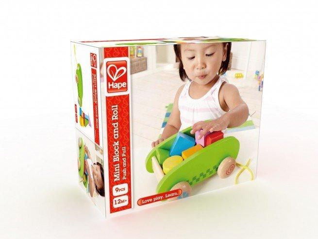 Traukiamas vežimėlis Hape, E0408 kaina ir informacija | Žaislai kūdikiams | pigu.lt