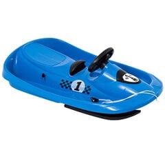 Rogutės su vairu Hamax Sno Formel 505514 mėlynos kaina ir informacija | Rogutės | pigu.lt