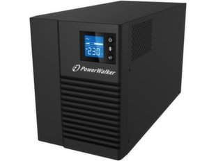 PowerWalker - UPS LINE-INTERACTIVE 1500VA 8X IEC 230V OUT, PURE SINE WAVE, RJ45 IN/OUT, USB HID, LCD