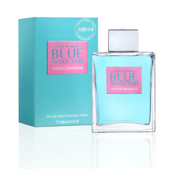 Tualetinis vanduo Antonio Banderas Blue Seduction EDT moterims 200 ml