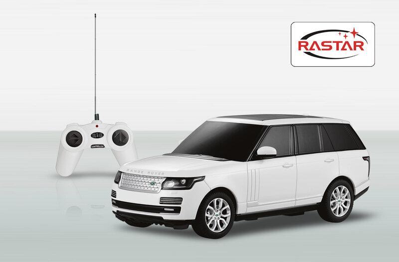 Radijo bangomis valdomas automodelis Range Rover 1:24 48500, 1 vnt
