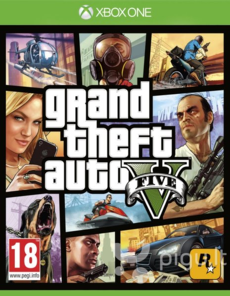 GRAND THEFT AUTO V (GTA 5), Xbox One
