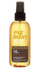 Purškiamas apsauginis losjonas Piz Buin Wet Skin Transparent SPF15 150 ml