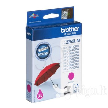 Brother LC225XLM, Magenta High yield Ink Cartridge 1200 pages