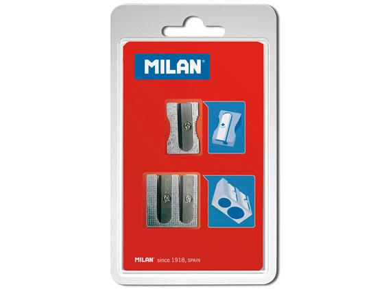Drožtukai Milan BWM9079, metaliniai, 2 vnt.