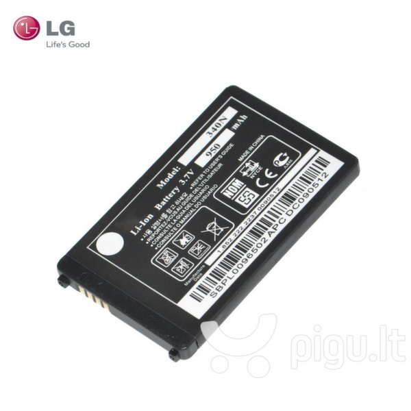 LG LGIP-340N Original Battery for BL20 GD500 KM570 KF900 Li-Ion 950mAh