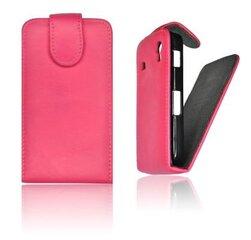 Atverčiamas dėklas Forcell Prestige Vertical Case skirtas Nokia C6, Rožinis
