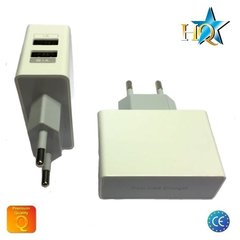 Universalus HQ buitinis pakrovėjas USB 2.1A/1A, Baltas