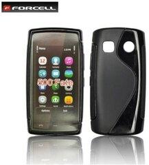 Apsauginis dėklas Forcell Back Case skirtas Nokia 500, Juodas kaina ir informacija | Telefono dėklai | pigu.lt