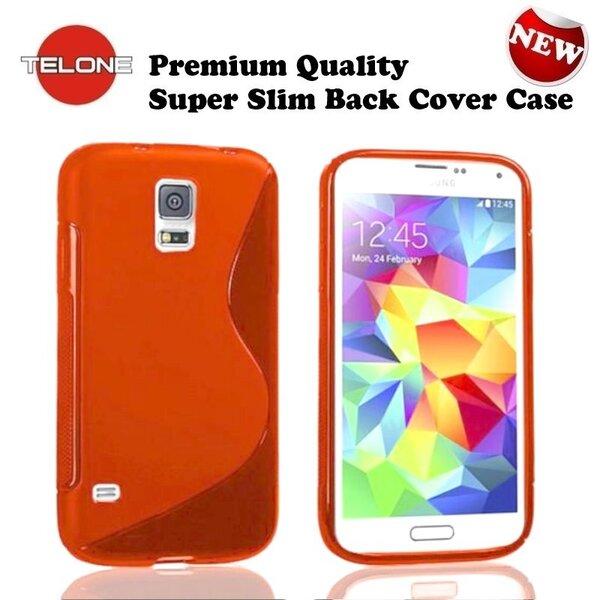Apsauginis dėklas Telone skirtas Samsung Galaxy S5 Mini (G800), Raudona
