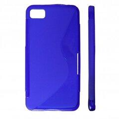 KLT Back Case S-Line Nokia 610 Lumia silicone/plastic case Blue kaina ir informacija | KLT Back Case S-Line Nokia 610 Lumia silicone/plastic case Blue | pigu.lt