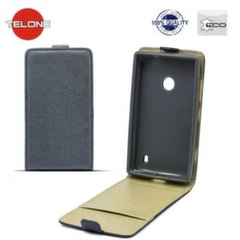 Telone Shine Pocket Slim Flip Case Samsung G350 Core Plus vertical book case Grey kaina ir informacija | Telefono dėklai | pigu.lt