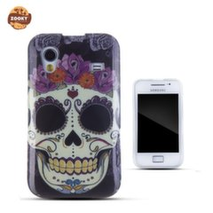 Zooky Silicone Back Case with Skulls Art Design Samsung S5830 Galaxy Ace kaina ir informacija | Zooky Silicone Back Case with Skulls Art Design Samsung S5830 Galaxy Ace | pigu.lt