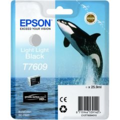 Epson T7609 Light Light Black ink 26ml