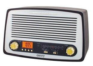 Retro radijo imtuvas Camry 1126, USB, MP3, žadintuvas