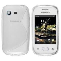 Apsauginis dėklas Telone skirtas Samsung Pocket Neo (S5310), Skaidrus kaina ir informacija | Telefono dėklai | pigu.lt