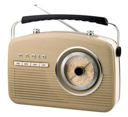 Camry CR 1130 Retro radio, Beige