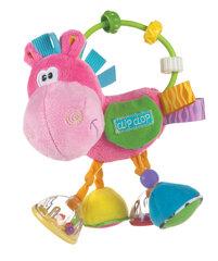 """Barškutis Playgro Toy box """"Clip Clop"""" rožinis 0183303"""