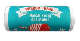 Maišeliai kačių tualetui Wisdom Trash, užrišami, 8 vnt