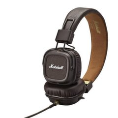 MARSHALL MAJOR II Brown Headphones w/Mic & Remote/ Fully Collapsible Construction kaina ir informacija | Ausinės, mikrofonai | pigu.lt