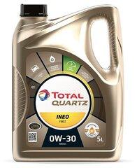 TOTAL Quartz INEO First 0W-30 variklių alyva, 5L kaina ir informacija | TOTAL Quartz INEO First 0W-30 variklių alyva, 5L | pigu.lt