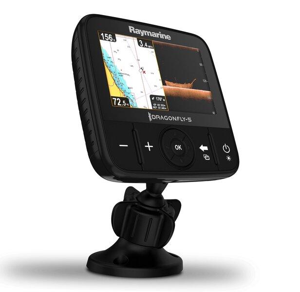 Echolotas Raymarine Dragonfly 5 PRO GPS/DownVision E70293