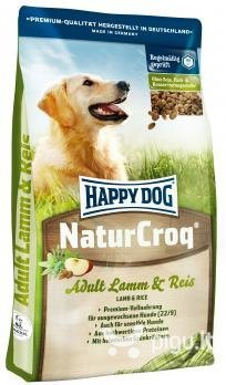 Happy Dog NaturCroq Lamb and Rice, 15 kg