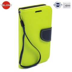 Telone Fancy Diary Bookstand Case HTC One M9 Light Green/Blue kaina ir informacija | Telefono dėklai | pigu.lt