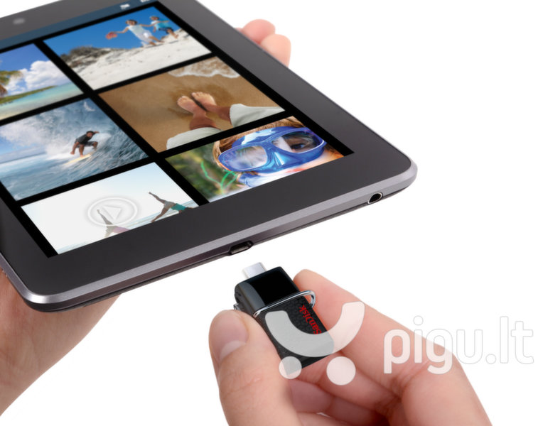 Atmintinė SANDISK 32GB Ultra Android Dual USB Drive
