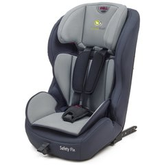 Automobilinė kėdutė Kinderkraft Safety Fix 9-36 kg, Navy