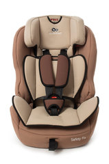 Automobilinė kėdutė Kinderkraft Safety Fix 9-36 kg, Beige