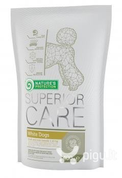 Nature's Protection Superior Care White Dogs Small And Mini Breeds 400 g