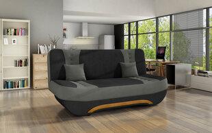 Sofa Ewa II, pilka kaina ir informacija | Sofos, foteliai ir minkšti kampai | pigu.lt