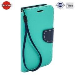 Telone Fancy Diary Bookstand Case Samsung G920 Galaxy S6 Light Blue/Blue kaina ir informacija | Telefono dėklai | pigu.lt