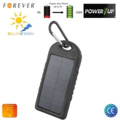 Forever PB-016 Solar Power Bank 5000mAh