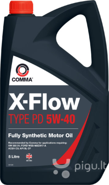 Alyva ''Comma'' X-FLOW TYPE PD 5W40, 5L