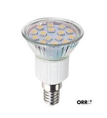 Šviesos diodų lempa ORRO, 3W, E14