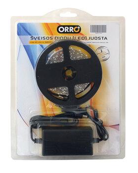 Šviesos diodų juosta ORRO, 14,4W/m, 3m
