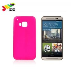 Apsauginis dėklas Forcell skirtas HTC One M9, Rožinis kaina ir informacija | Telefono dėklai | pigu.lt