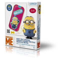 Mobiliojo telefono dėkliuko dekoravimo rinkinys Minions kaina ir informacija | Mobiliojo telefono dėkliuko dekoravimo rinkinys Minions | pigu.lt
