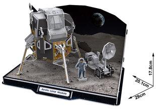 """3D dėlionė CubicFun """"Apollo"""" mėnulio modulis, 104 detalės"""