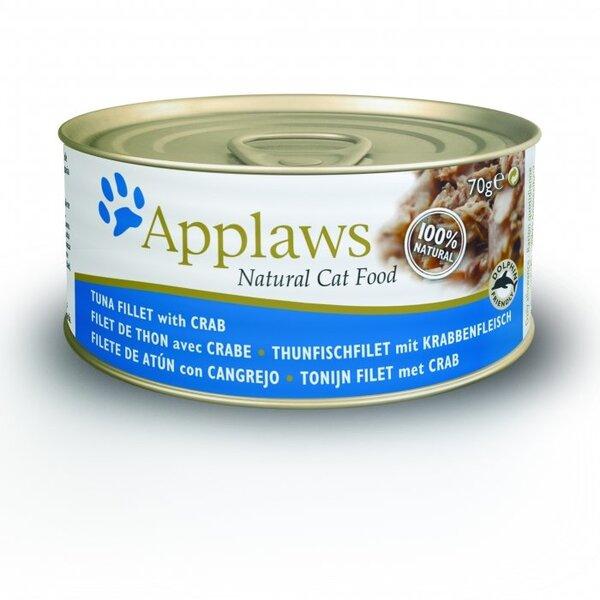 Applaws Cat Tuna & Crab, 70 g