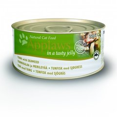 Applaws Jelly Tuna & Seaweed, 70 g