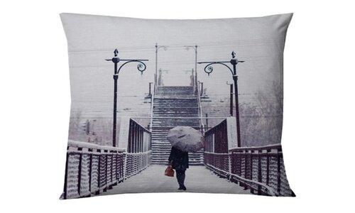 Dekoratyvinis pagalvės užvalkaliukas Bridge, 45x45 cm kaina ir informacija | Dekoratyvinės pagalvėlės ir užvalkalai | pigu.lt